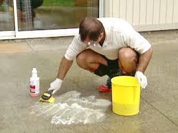concrete cleaner clean concrete