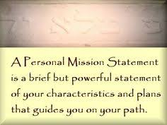 my vision statement sample personal mission statement 3 my life pinterest affirmation