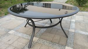gorgeous round garden dining table endearing tables soro cm table curtain luxury round garden dining table