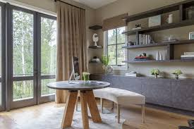 mill valley marin inspiration for a contemporary study room remodel in san francisco with beige walls beautiful office desks san