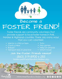 foster friends flyer jpg for those that want to be involved but not be ready to make the commitment to become a foster parent we have the foster friends program
