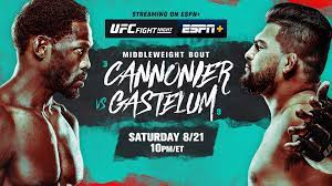 UFC Fight Night: Cannonier vs. Gastelum ...
