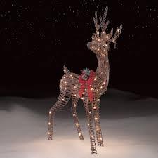 christmas reindeer decorations indoor best decorating ideas roebuck co gvine standing deer outdoor christmas decor