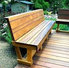 wood deck storage bench outdoor with great benches made two of these to seating modern wooden