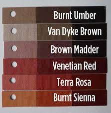 Umber Color Chart Winsor Newton Colors Archive Wetcanvas