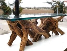 decoration tree trunk coffee table glass top wonderful brown walnut veneer lift drawer storage accent