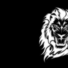 lion wallpaper black and white. Perfect White 2048x2048 Lion Black And White Wallpaper HD  Download  To And T
