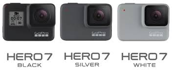Gopro Hero7 Black Silver And White Comparisons By Jeff
