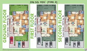 white house floor1 green roomjpg. 4 BHK 2075 Sq. Ft. Ind Floor Plan White House Floor1 Green Roomjpg Square Yards