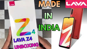 Lava Z4 Mobile Unboxing Review |