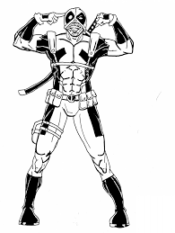 Marvel Comics Characters Coloring Pages Inspirational Free Printable