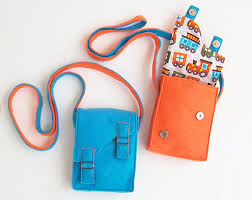 Messenger Bag Pattern Adorable Children BRIGHT Messenger Bag Purse Pattern For Boys And Girls