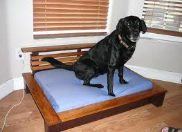Bedside Platform Dog Beds New Bed By Woodworking Throughout Design 7