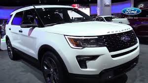 2018 ford explorer interior. beautiful ford 2018 ford explorer sports exterior with ford explorer interior