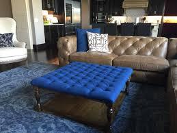 coffee tables  velvet tufted ottoman walmart navy blue pouf teal