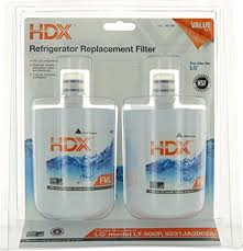 hdx refrigerator replacement filter. Delighful Refrigerator HDX FML1 Replacement Water Filter  Purifier For LG Refrigerators 2 Pack Inside Hdx Refrigerator M