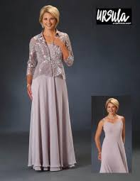 Ursula Of Switzerland 31521 Mob Gown With Lace Jacket