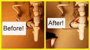 bathroom sink pop up drain leaking drain pipe under bathroom sink how to fix