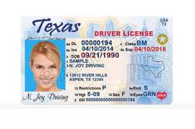 To Drivers A Texas Do For New List 2019 License Get