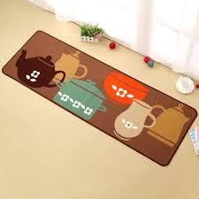 kitchen rug set 2 piece non slip kitchen mat rubber backing doormat runner rug set pots kitchen rug set