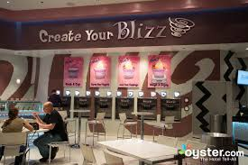 Blizz Yogurt Blizz Crepes At The Mgm Grand Hotel Casino Oyster Com