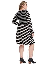 loft white dress. striped flare dress loft white