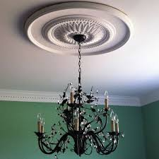 how to install ceiling medallion with a chandelier best of 114 best ceiling medallions images on