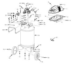 Tank assembly parts