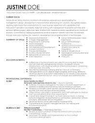 Software Architect Resume Examples Elegant Sample Architect Resume