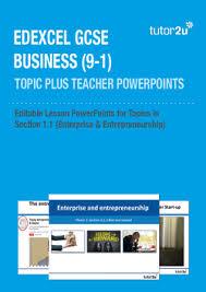 Introducing Topic Plus Powerpoints For Edxcel Gcse Tutor2u Business