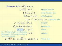 6 example solve