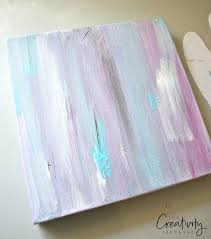 diy heart acrylic painting tutorial begin with a paint wash