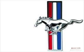 ford mustang logo images. Delighful Mustang Hence Ford Stuck With The Logo Of A Galloping Horse For Mustang And  Red White And Blue Stripes In Background Represented American Flag Mustang Logo Images