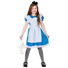 childrens s clic storybook alice fancy dress up costume outfit amazon co uk toys games