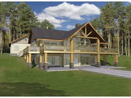 ranch house plans with basement. Walkout Basement House Plans 3D Ranch With L