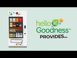 Hello Goodness Vending Machine Fascinating PepsiCo's Innovative Hello Goodness Vending Machines YouTube