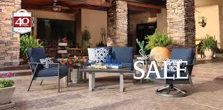 Outdoor furniture spring sale