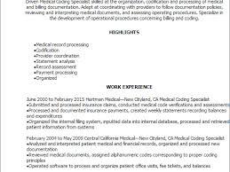breakupus splendid resume examples top design resume examples breakupus excellent professional medical coding specialist resume templates to cool resume templates medical coding specialist
