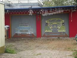 vintage garage doorsVintage Cars Hansstr 4 Bochum Germany NW  Garage Door Art on