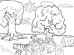 Small Picture Adam And Eve Coloring Pages Free Bebo Pandco