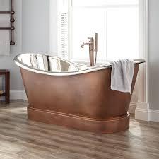 ... Bathtubs Idea, Bathtubs At Menards Freestanding Bathtubs Double Slipper Copper  Tub Nickel Interior: amazing ...