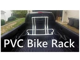 PVC Bike Rack - Truck Bed or Stand Alone - YouTube