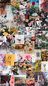 Collage Flower iPhone Wallpapers - Top ...