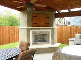 outdoor gas fireplace with tv above perfect design easy fireplaces diy outdoor fireplace