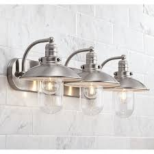 stylish bathroom lighting. This Bathroom Light Features Clear Glass For Bright And Stylish Illumination. Lighting O