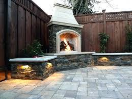 stone patio fireplace outdoor kits ontario