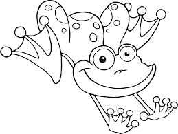 Small Picture Frog jumping coloring pages ColoringStar
