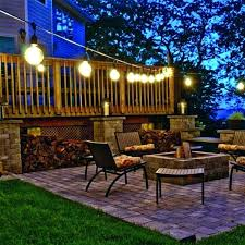 light bulb outdoor string lights make the home feel more warm and welcoming with garden candle