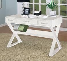 unique home office desk. Amazon Home Office Desk With Triangular Legs In White Finish Unique