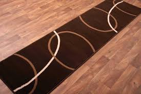 chocolate brown rug modern runners for hallways adorable runner long hall rugs and teal area